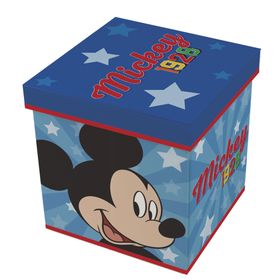 Children pouffe with storage space Mickey, Arditex, Mickey Mouse