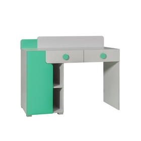 Writing table Yuko - gray-green, Dolmar