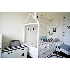 Children's bed house Paul - white, Ourbaby