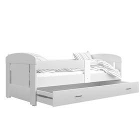 Children's bed Filip - white, AJK meble
