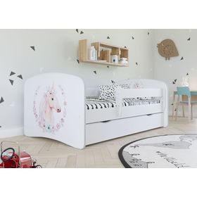 Children bed with barrier - Unicorn, All Meble
