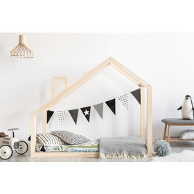 Children bed house Mila Chimney Light, ADEKO STOLARNIA