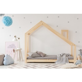 Children bed house Mila Chimney, ADEKO STOLARNIA