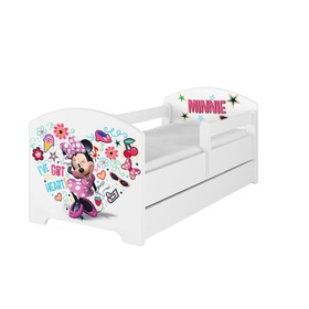 Minnie Mouse cot - I've got heart, BabyBoo, Minnie Mouse