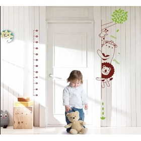 Wall Decoration - Curious Animals Heigh Chart - right side, Amsaid