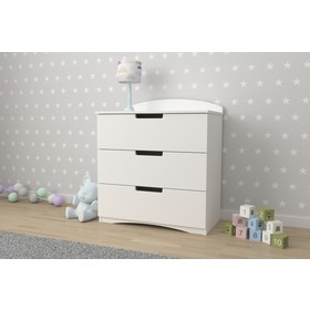 Chest of Drawers Classic - white, All Meble