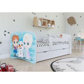 Children bed with barrier - Frozen 2, All Meble, Frozen