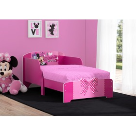 Wooden children's bed Minnie Mouse, Delta, Minnie Mouse