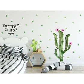 Decoration to wall Cactus 02, Mint Kitten