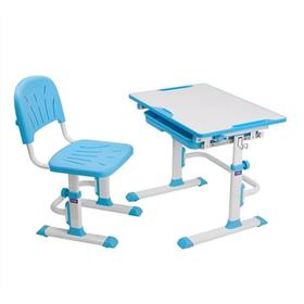 Children writing table + chair Cubby Lupin - blue, Fun-desk