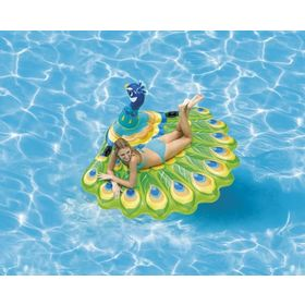 Inflatable mat Peacock, EcoToys