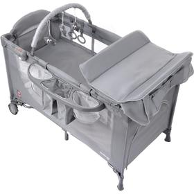 Travel cot Comfort Plus - grey, Multiglob