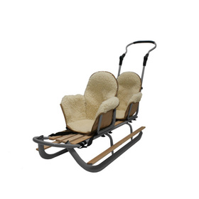 Children sledge for twins Duo - colors, Mikrus