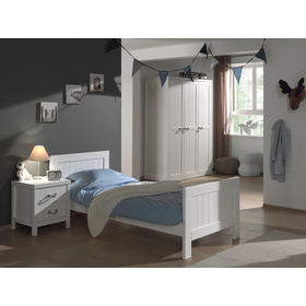 Nightstand Lewis, VIPACK FURNITURE