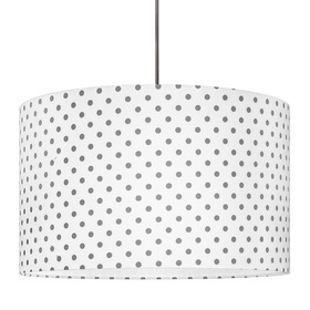 Textile hanging lamp Bullets, YoungDeco